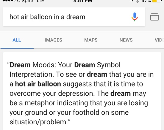 Golden Hot Air Balloon Dream Part 2 Mac Remembers More Uglyreal